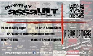 Monthly Assault header
